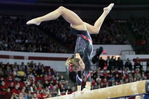 give uga athletics gymnast
