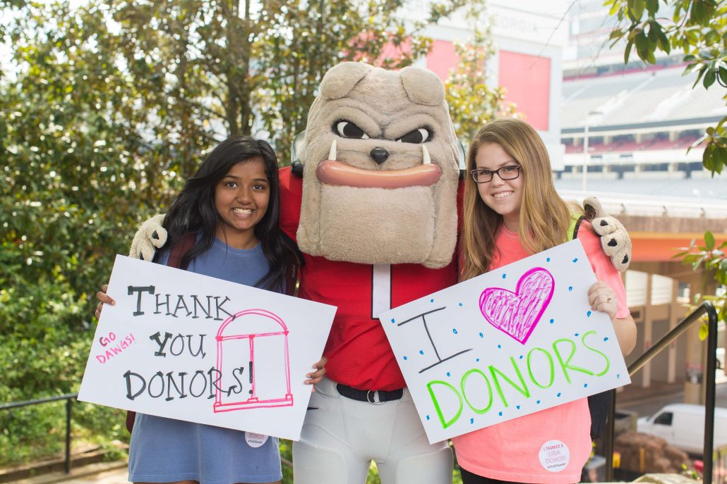 2017 Thank A Donor Day recognizes donors to UGA