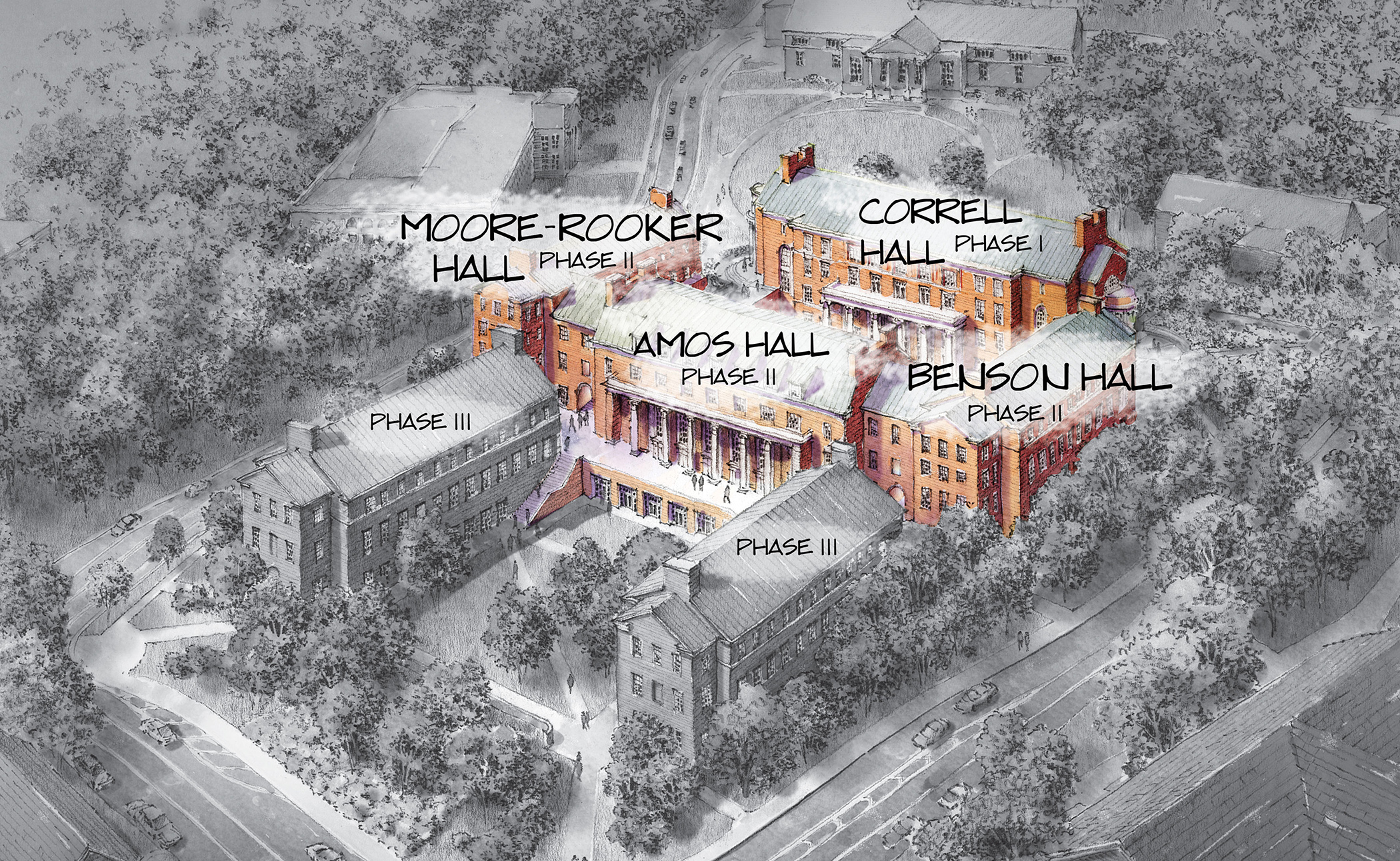 two uga buildings named for business leaders