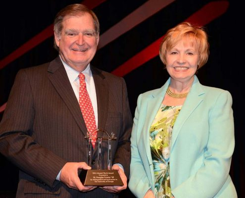 uga scholarship established by Ivester Foundation