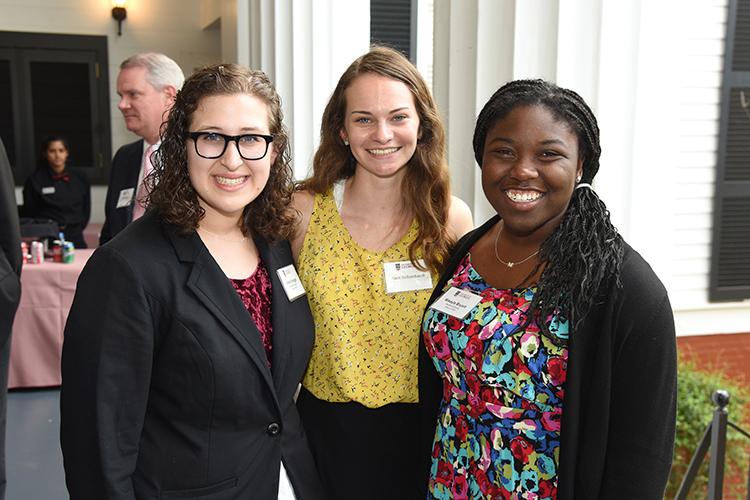Woodruff scholarship recipients