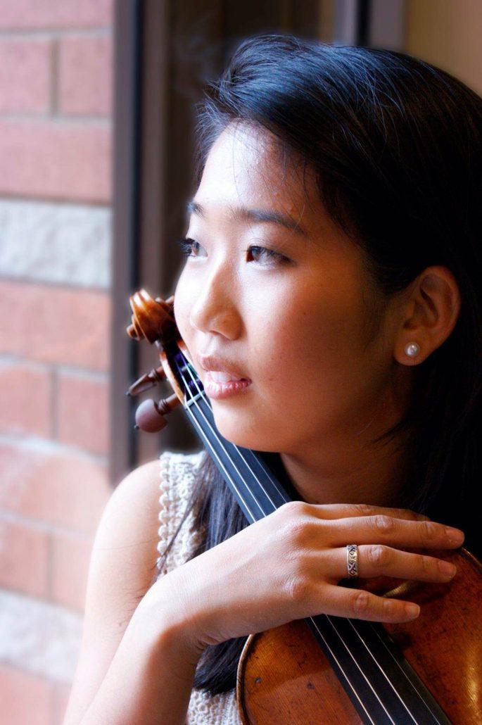 Krystal Lo with Violin