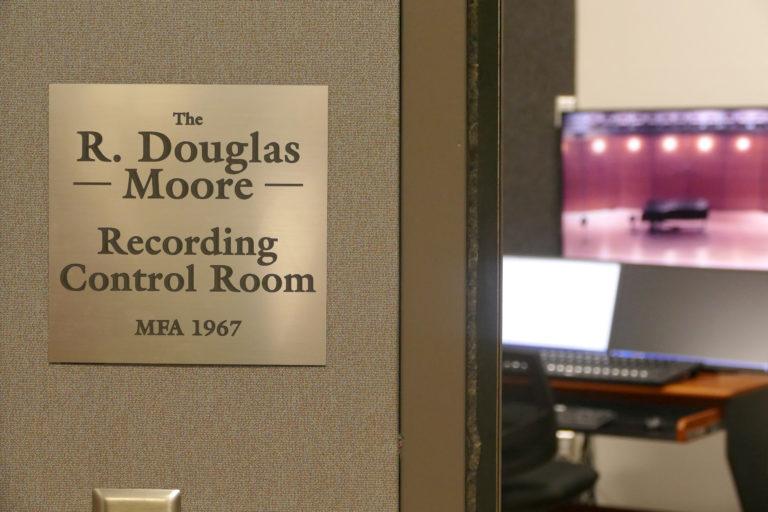 Recording control room