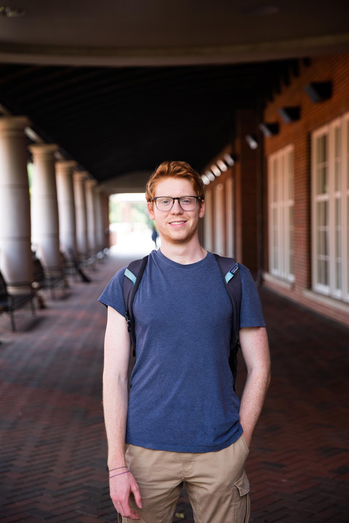 Sam Tingle 2018 on campus2