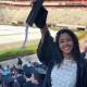 Tahira at graduation