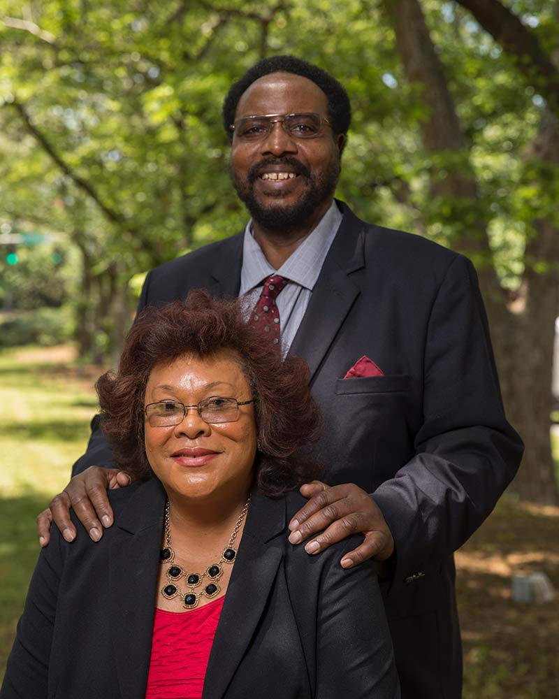 Drs. Johnny Sanders Jr. and Rubye Coleman-Sanders