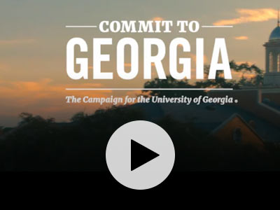 Commit to Georgia. the Campaign for the University of Georgia