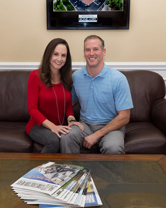 Chad and Sabrina Collins create endowed scholarship