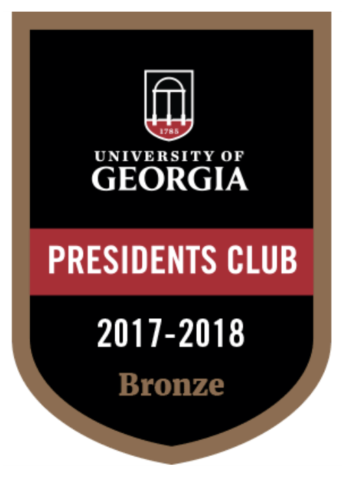 President's Club Bronze Shield