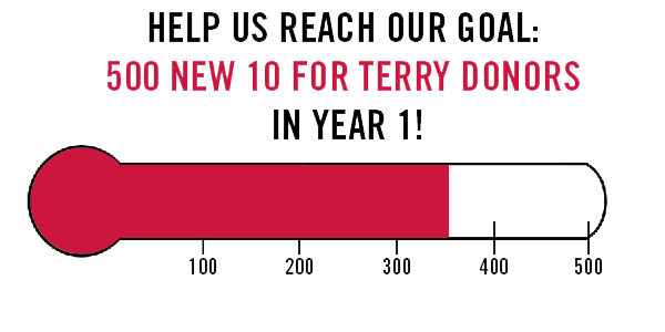 Ten for Terry Campaign Progress